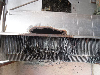 Pictures Of Poor Boiler Servicing By A Well Known National Boiler